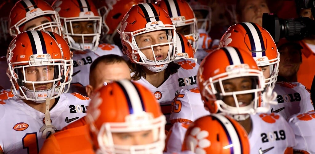 2020 College Football Futures: Clemson, Alabama Early Favorites