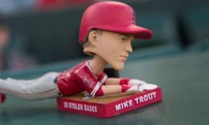 mike trout mvp odds injury