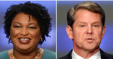 brian kemp stacey abrams odds